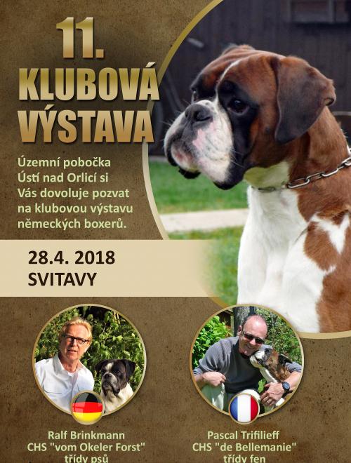 Klubová výstava Svitavy 2018